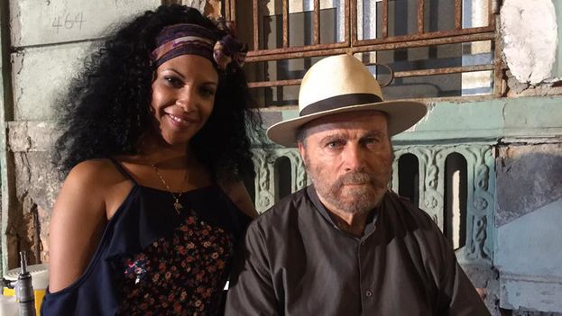 El actor estuvo en Cuba por última vez en la semana del cine italiano, cuando recibió un premio de la Uneac. (Vedado Films)