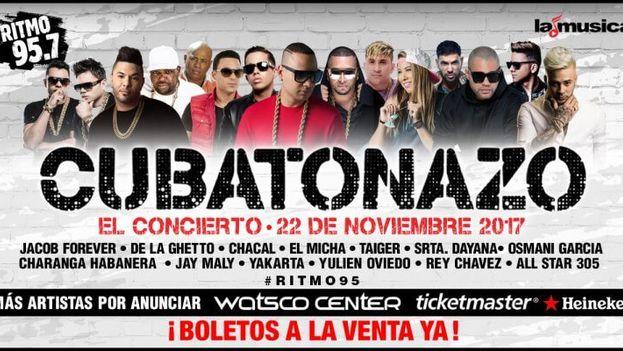 EL Cubatón es escuchado tanto en la Isla como como en el exterior, en especial entre las jóvenes generaciones de cubanos. (Cartel)