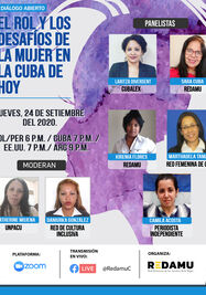 """Debate """"El rol y los desafíos de la mujer en la Cuba de hoy"""" (Redamu)"""