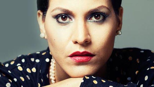 Detalle del disco Palabras, interpretado por Haydee Milanés y con canciones de Marta Valdés