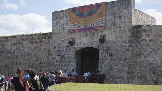 Día inaugural de la Feria del Libro de La Habana. (Luz Escobar)