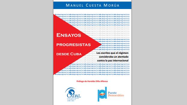 La portada de 'Ensayos Progresistas desde Cuba', de Manuel Cuesta Morúa.