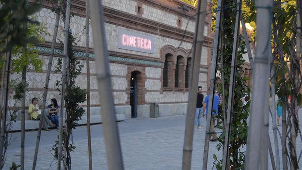Entrada a la Cineteca durante el Weekend. (Rosa Pascual)