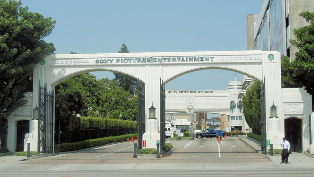 Entrada a Sony Pictures Entertainment. (CC)