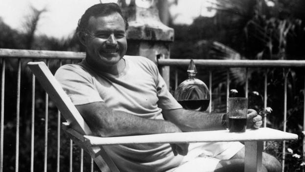 Ernest Hemingway en la Finca Vigía, La Habana (foto de archivo)