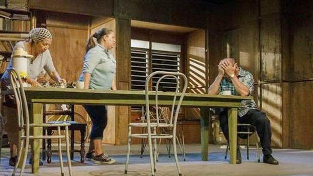 Escena de la obra 'El Tio Vania' (BLOG ENFOQUE CUBANO)