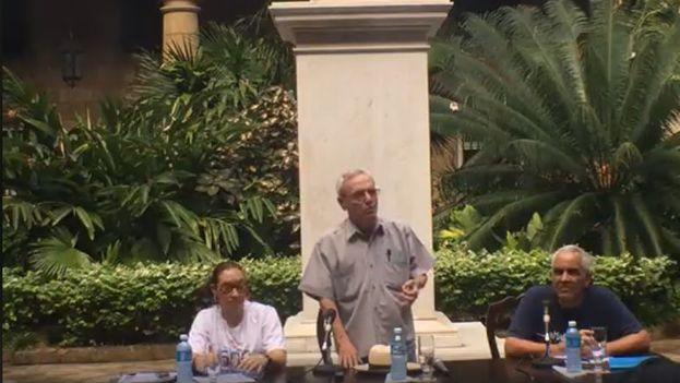Eusebio Leal presentó este jueves el programa para la celebración del V Centenario de La Habana.