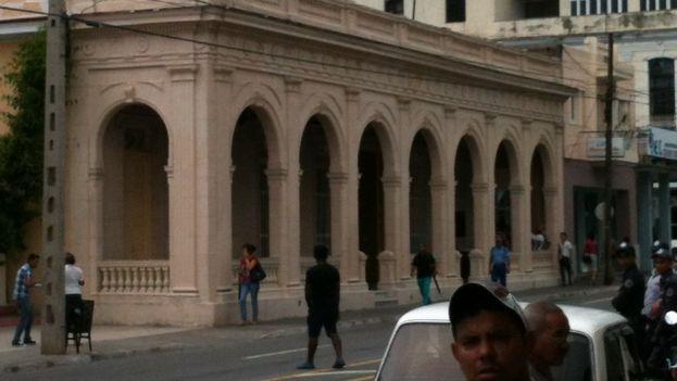 Exterior del Museo Provincial de Pinar del Río, reabierto este lunes. (Juan Carlos Fernández/14ymedio)