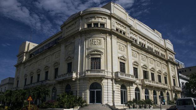 Fachada del Teatro Auditorum Amadeo Roldán. (14ymedio)