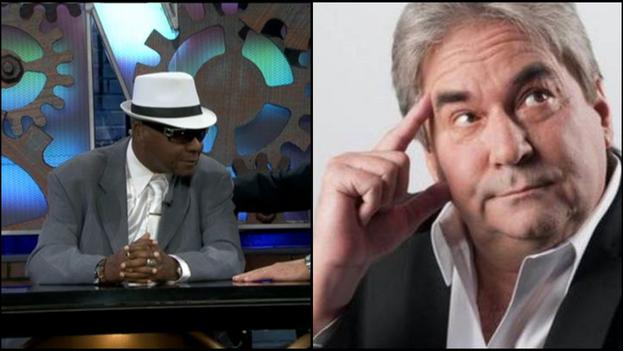 Fallecieron en Miami los comediantes cubanos Medardo Naranjo 'Mamito' y Eddy Calderón. (Collage)
