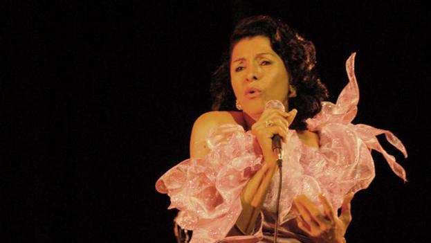 La popular cantante cubana Farah María García falleció este miércoles en La Habana a los 76 años. (Granma)