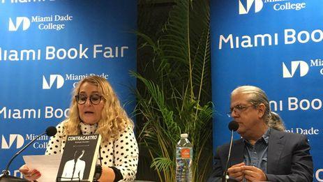 Este lunes tuvo lugar en la Feria del Libro de Miami la presentación de 'Contracastro', la novela póstuma de Rafael Alcides. (14ymedio)