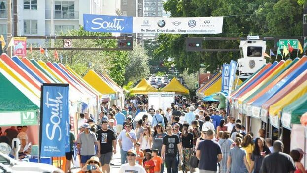 La Feria se prolongará hasta el próximo día 24. (Miami Book Fair)