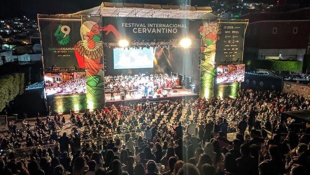 Vista general de la inauguración del 49 Festival Internacional Cervantino este miércoles, en el estado de Guanajuato (México). (EFE)