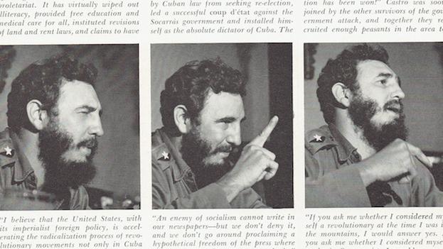 La revista tituló esta entrevista: 'Fidel Castro en 'Playboy': una cándida conversación con el belicoso dictador de la Cuba comunista'