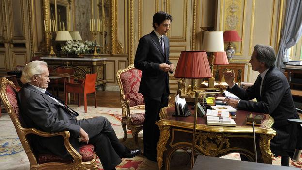 Fotograma de la película 'Crónicas diplomáticas' (Quai d'Orsay), de Bertrand Tavernier