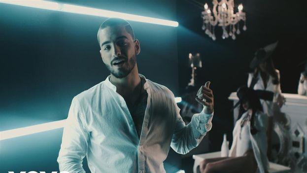 Fotograma del videoclip 'Cuatro Babys' de Maluma. (YouTube)