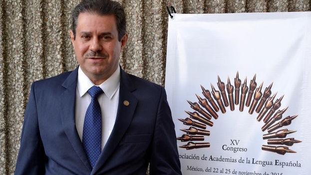 El profesor y lingüista venezolano Francisco Javier Pérez, el nuevo secretario general de la Asociación de Academias de la Lengua Española para 2016-2019. (Asale)