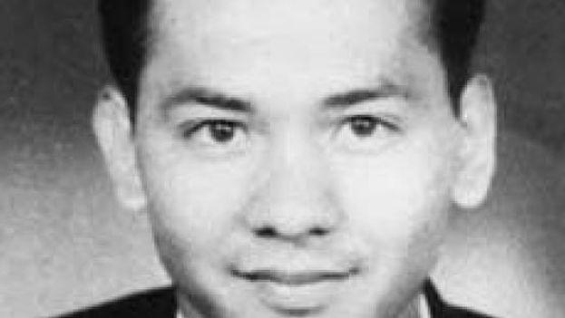Freddy Maymura, cuyos restos actualmente reposan en el Memorial de Ernesto Guevara en Santa Clara