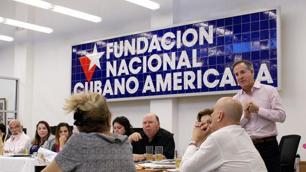El presidente de la Fundación Nacional Cubano Americana, Jorge Mas Santos. (Cortesía FNCA)