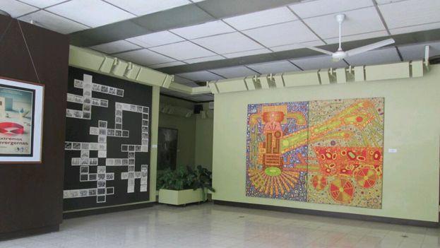 Galería de arte situada en el viejo lugar del consulado de EE UU, en Santiago de Cuba. (Mayeta)