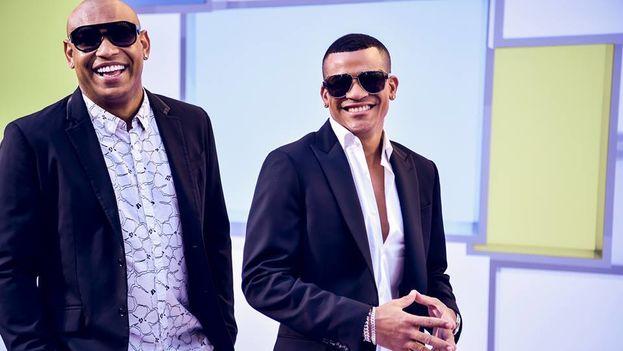 El dúo cubano Gente de Zona en los Latin Music Awards. (Facebook)