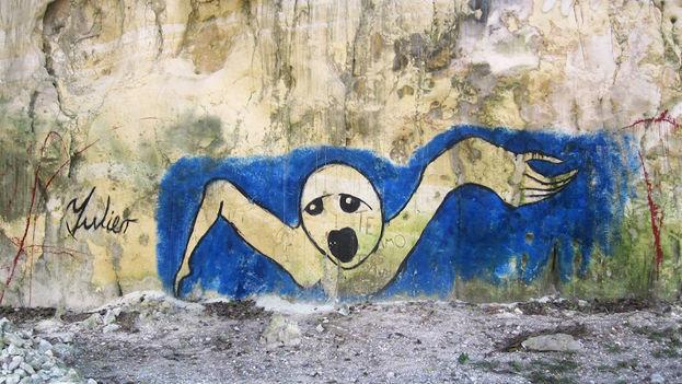 Grafitis de Yulier Rodríguez Pérez