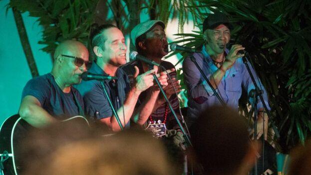 """Habana Abierta sigue """"viva"""", haciendo música y con ganas de actuar en Cuba, dijeron sus integrantes. (EFE)"""