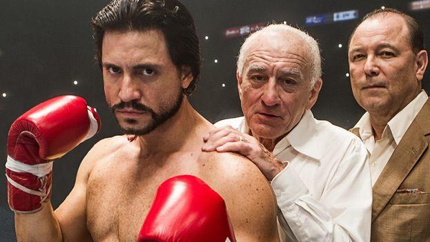 'Hands of stone' está protagonizada por Edgar Ramírez y Robert de Niro. (Facebook)