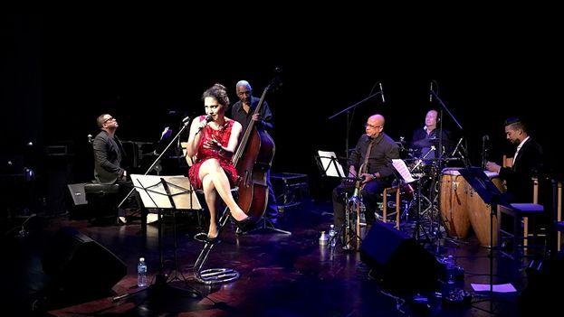 Haydée Milanés dedicó a la ciudad su doble concierto del pasado miércoles.