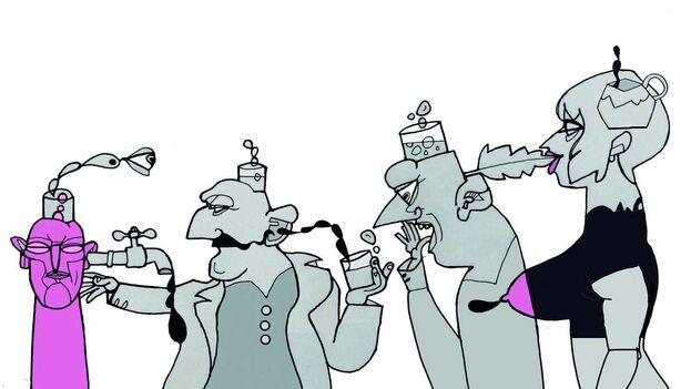 Ilustración del artista cubano Luis Trápaga. (EFE)