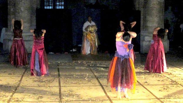 Inauguración de la XXI edición del Festival Internacional de Danza en Paisajes Urbanos. (14ymedio)