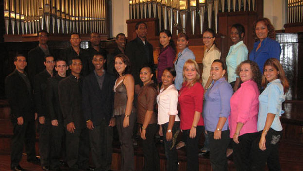 Integrantes del Coro Madrigalista. (14ymedio)