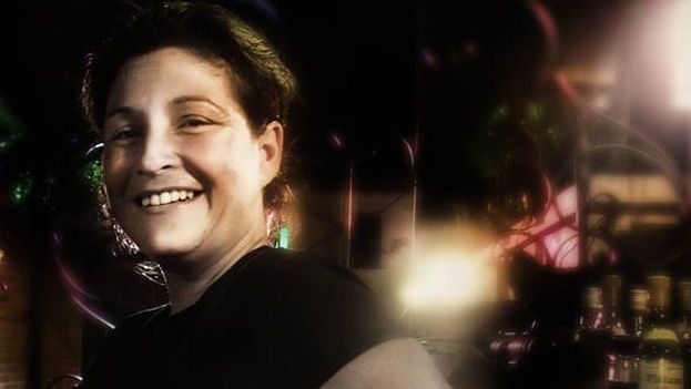La actriz Iris Ruiz fue detenida por primera vez antes de poder representar 'Psicosis'. (14ymedio)
