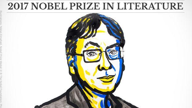 Kazuo Ishiguro, autor británico nacido en Nagasaki, ha obtenido el Nobel de Literatura 2017. (NobelPrize)