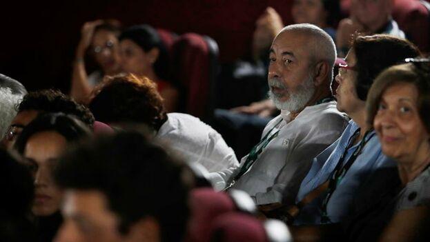 Leonardo Padura asistió a la proyección del documental el pasado miércoles. (EFE)