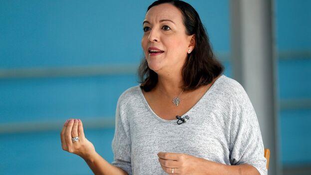 Lizt Alfonso, directora de la compañía Lizt Alfonso Dance Cuba, en La Habana. (EFE/ Ernesto Mastrascusa)