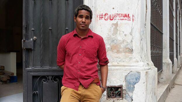 Luis Manuel Otero Alcántara fue detenido este jueves, justo el día en que comenzaba la cita artística. (14ymedio)