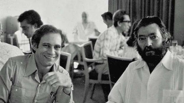 Manuel Pereira y Julio Cortázar.