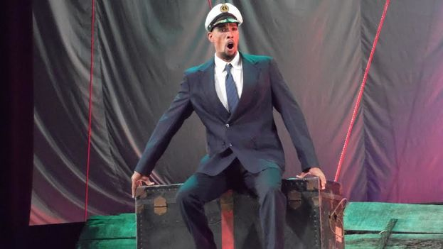 Marcos Lima, cantante del Teatro Lírico Nacional de Cuba. (14ymedio)