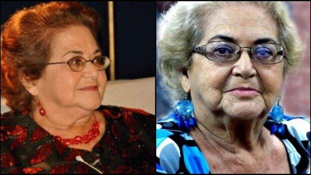Marta del Río nació en La Habana en 1936 y es reconocida como uno de los rostros más importantes de la televisión cubana. (Collage)