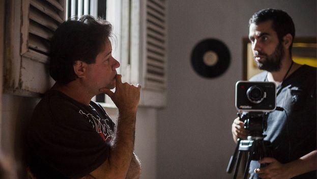 Jorge Molina durante la filmación, en 2017, de 'Molina's Margarita'. (Fernando Medina / Cachivache Media)