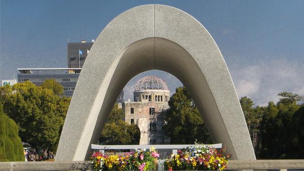 Monumento a las víctimas de la explosión nuclear en Hiroshima (CC)