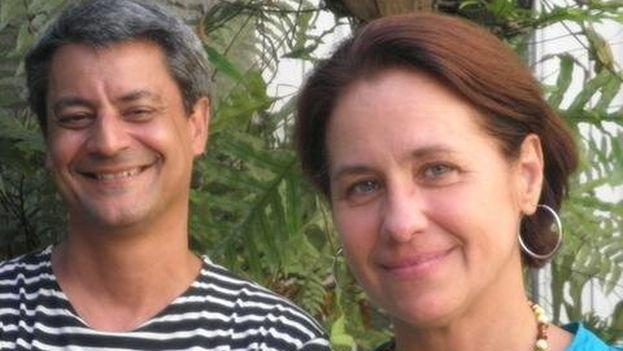 Juan Luis Morales y Teresa Ayuso, de Atelier Morales, participaron este jueves en el ciclo 'Miradas cruzadas: arquitectura iberoamericana' en Casa de América de Madrid. (@AtelierMorales)