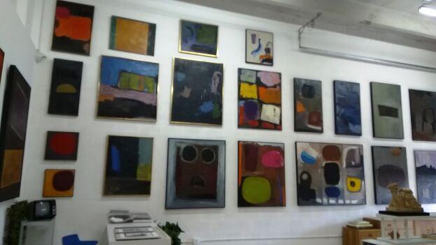 Nela Arias-Misson descubrió el expresionismo abstracto en los 40, cuando entró en relación con artistas como Mark Rothko, Robert Motherwell y Franz Kline, entre otros. (14ymedio)