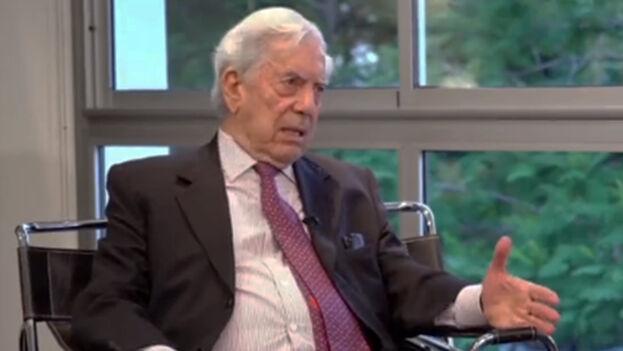 El Nobel de Literatura, Mario Vargas Llosa, se encuentra en México. (Captura)