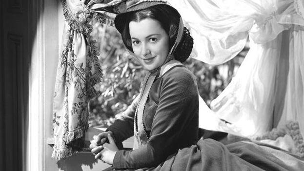 Olivia de Havilland afirmó que siempre quiso el papel de Melania, frente al deseado por la mayoría de Escarlata O 'Hara.