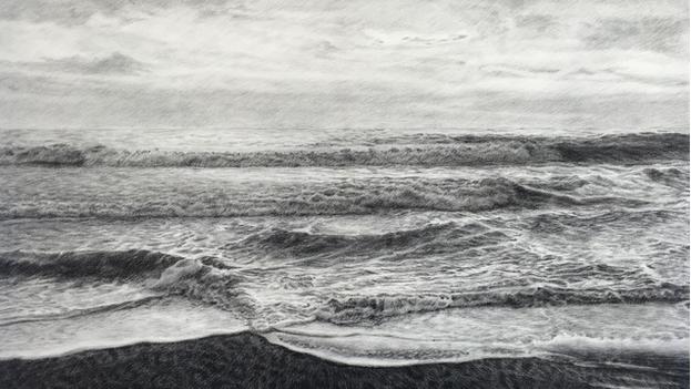 'Otorongo', dibujo sobre tela (2017), es una de las obras de Claudia Coca donadas por Jorge Pérez al Museo Nacional Centro de Arte Reina Sofía de Madrid.