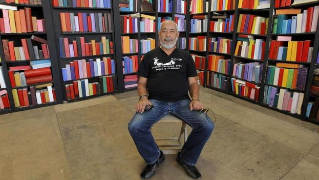 Padura participó en un curso sobre literatura cubana de la Universidad Internacional de La Rioja. (EFE)