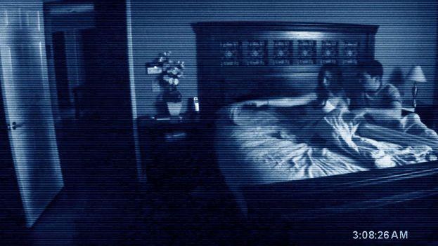 Una escena de 'Paranormal Activity: The Ghost Dimension'.